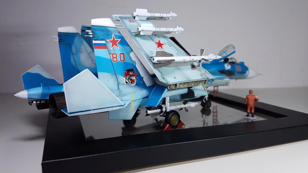 Sukhoi Su-33 Flanker-D 1/72 20190418