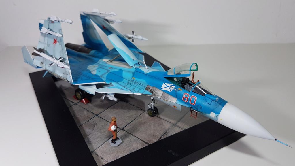 Sukhoi Su-33 Flanker-D 1/72 20190419