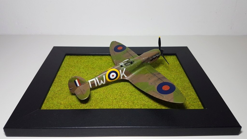 Supermarine Spitfire MkIa - 1/72 20190510