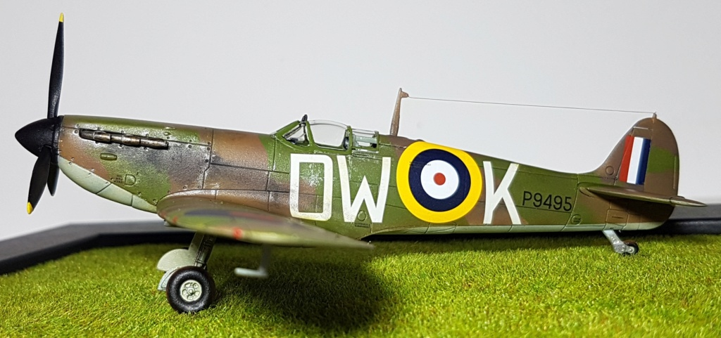 Supermarine Spitfire MkIa - 1/72 20190513