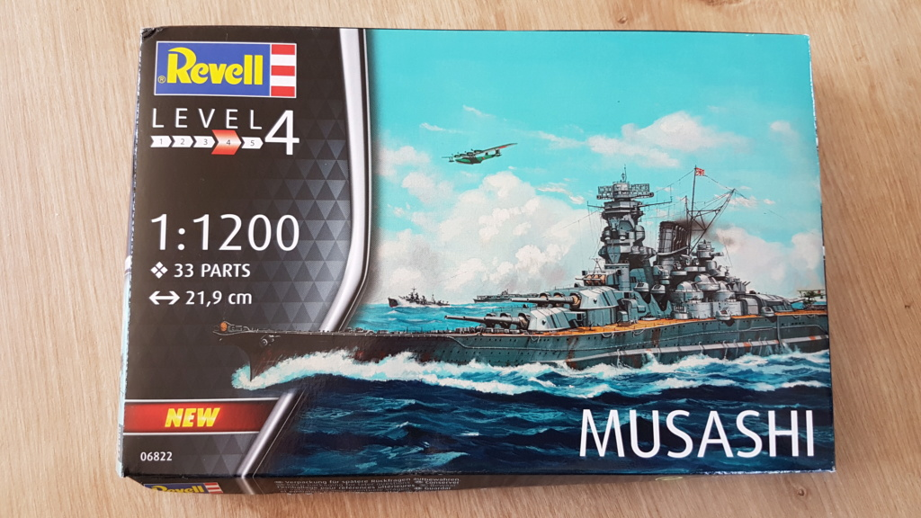 Collection Revell au 1/1200 (3 terminés) 20190527