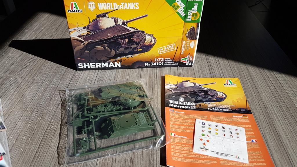 M4 Sherman (A1 ?) - 1/72 20190821