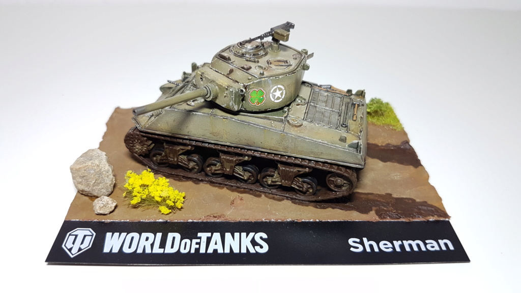 M4 Sherman (A1 ?) - 1/72 20190822