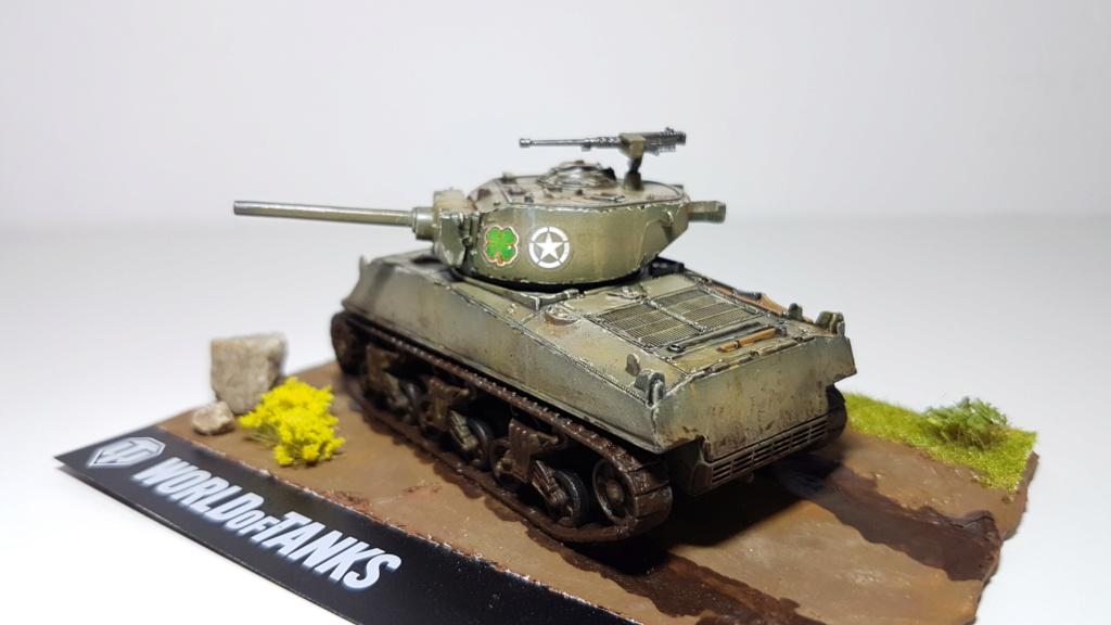 M4 Sherman (A1 ?) - 1/72 20190824
