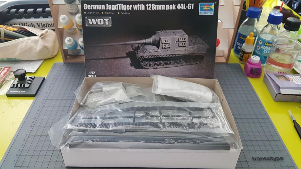 JagdTiger 128mm pak 44L-61 - 1/72 20190830