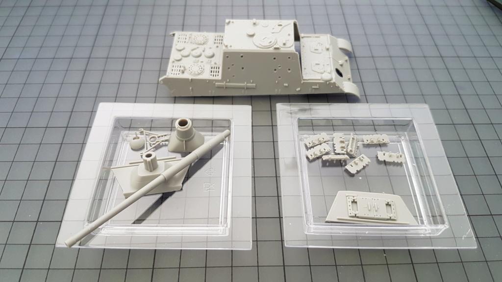 JagdTiger 128mm pak 44L-61 - 1/72 20190840