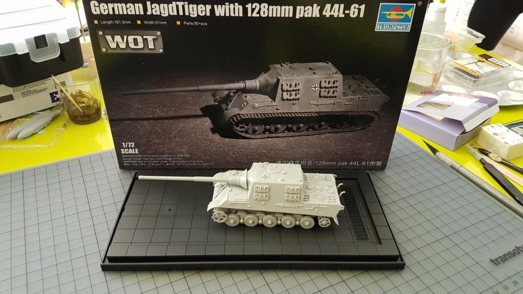 JagdTiger 128mm pak 44L-61 - 1/72 20190842
