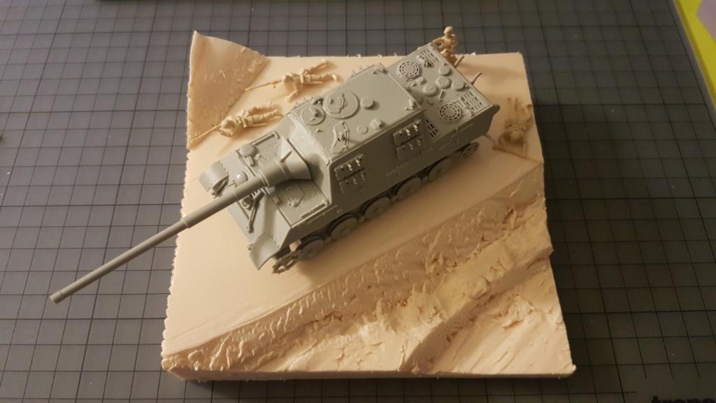JagdTiger 128mm pak 44L-61 - 1/72 20190845