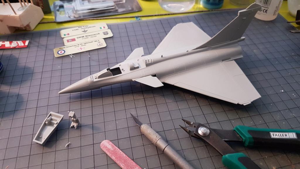 [Montage fini] Dassault Rafale M - 1/72 20191022