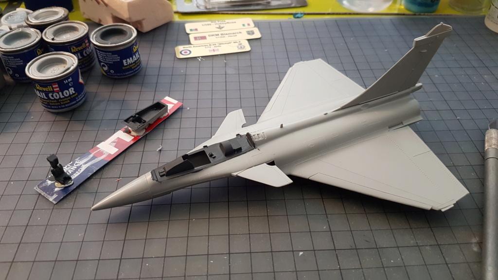 [Montage fini] Dassault Rafale M - 1/72 20191023