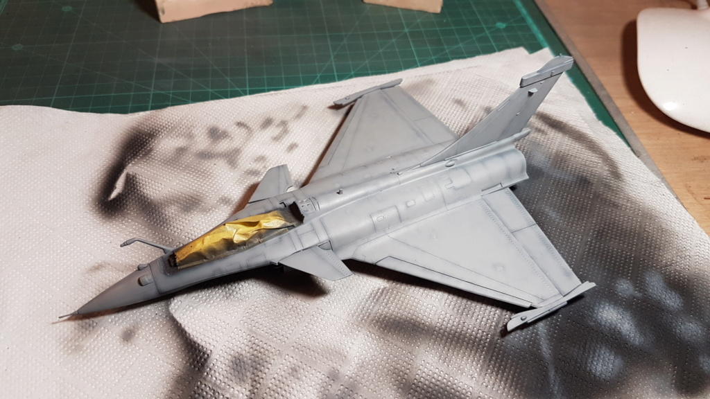 [Montage fini] Dassault Rafale M - 1/72 20191029