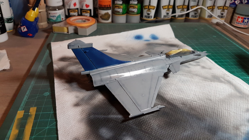 [Montage fini] Dassault Rafale M - 1/72 20191033