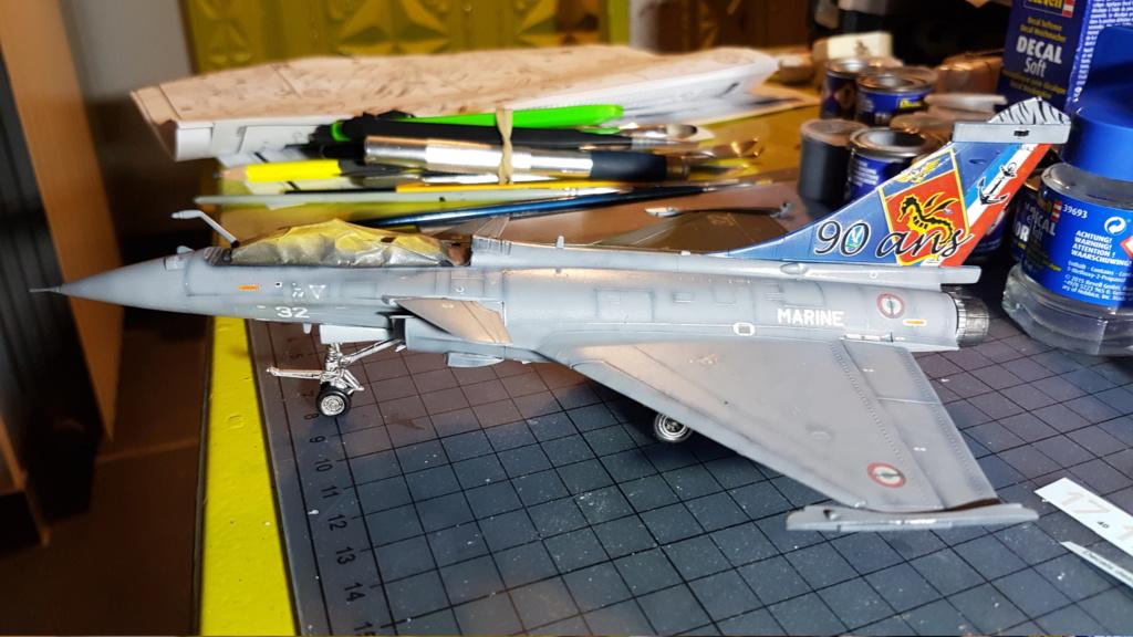 [Montage fini] Dassault Rafale M - 1/72 20191038