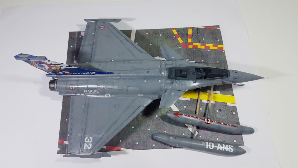 [Montage fini] Dassault Rafale M - 1/72 20191042