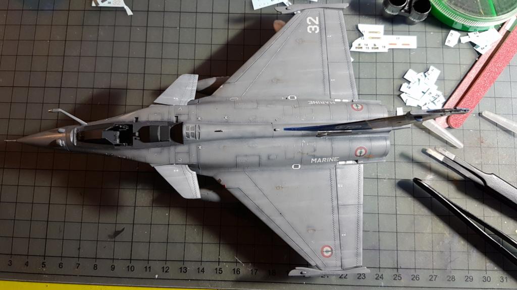 [Montage fini] Dassault Rafale M - 1/72 20191044