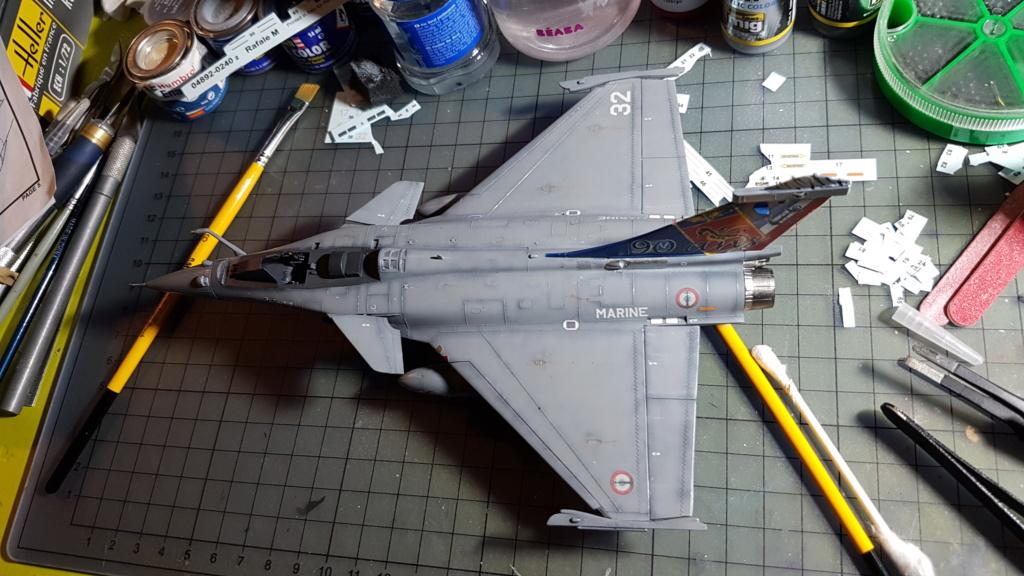 [Montage fini] Dassault Rafale M - 1/72 20191046