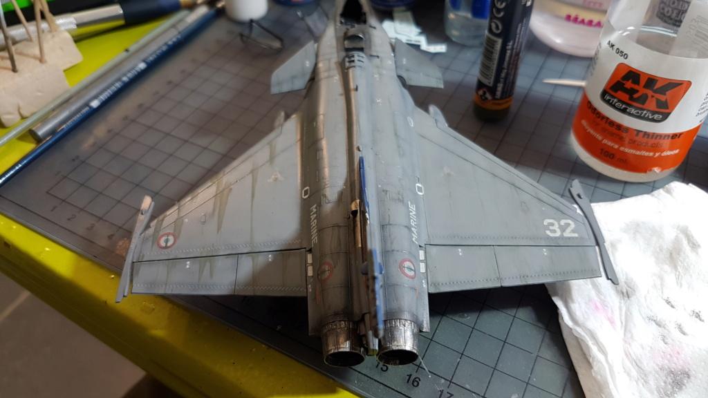 [Montage fini] Dassault Rafale M - 1/72 20191057