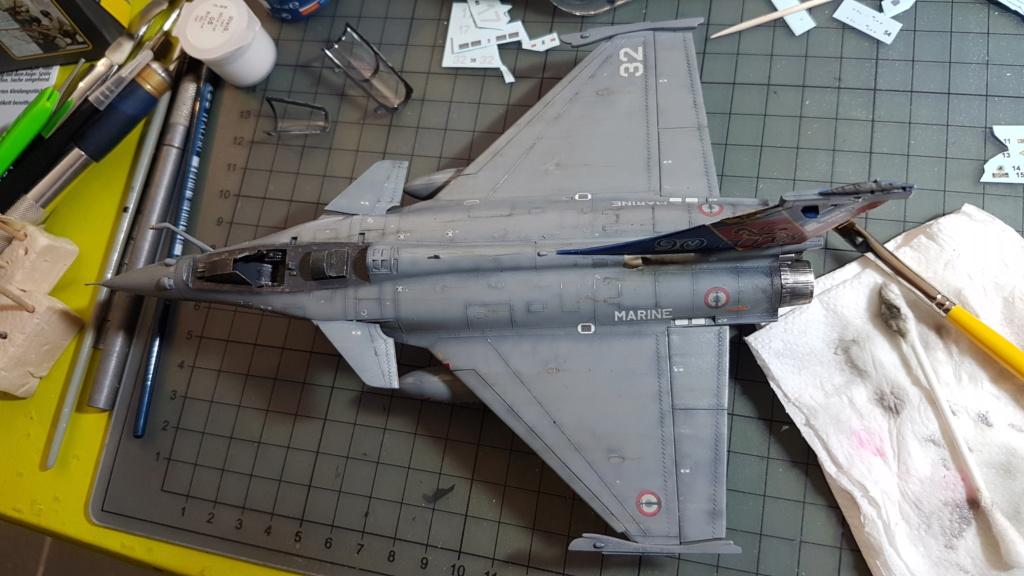 [Montage fini] Dassault Rafale M - 1/72 20191058