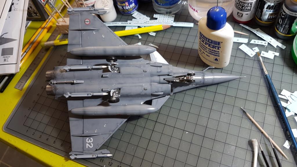 [Montage fini] Dassault Rafale M - 1/72 20191060