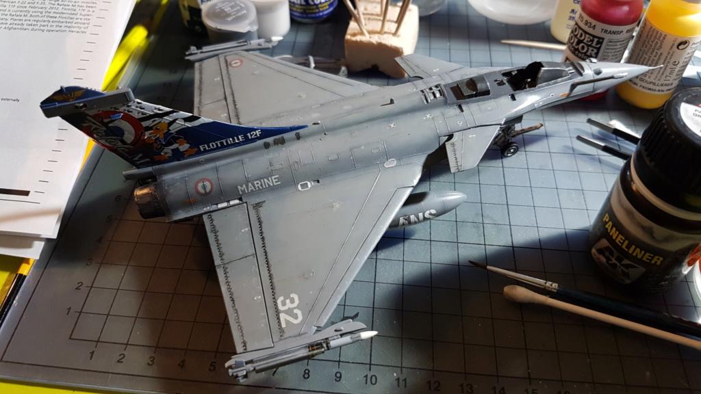 [Montage fini] Dassault Rafale M - 1/72 - Page 2 20191069