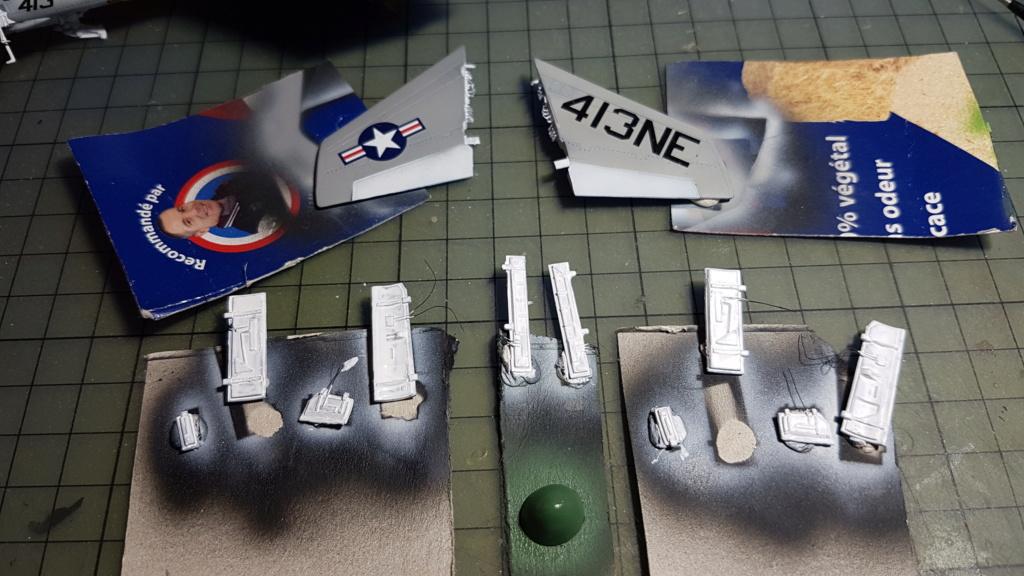 [Montage fini] A-7E Corsair II - 1/72 - Page 7 20191407