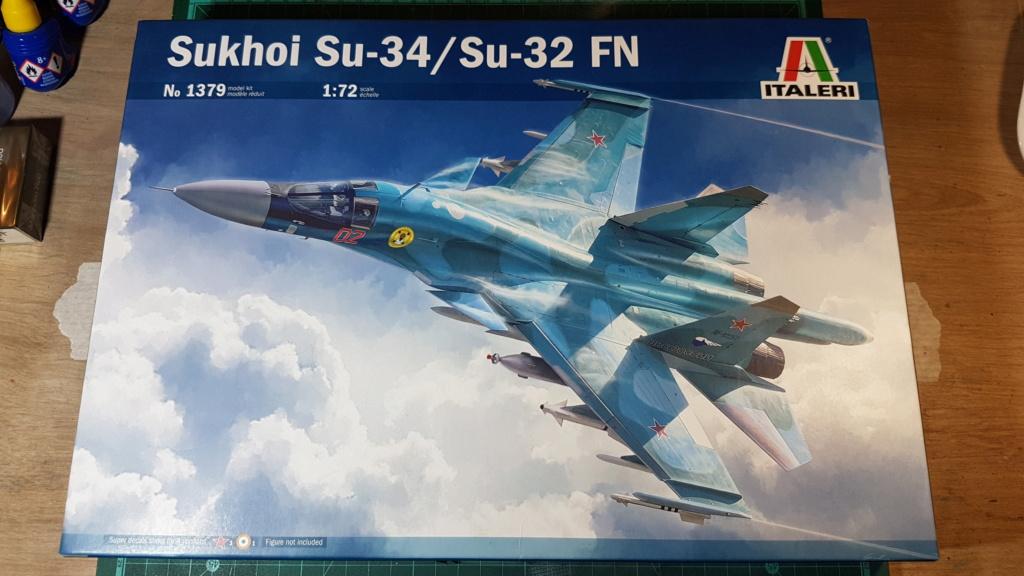 [Montage] Sukhoï Su-34 Fullback - 1/72 20191484
