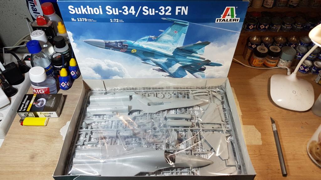 [Montage] Sukhoï Su-34 Fullback - 1/72 20191485