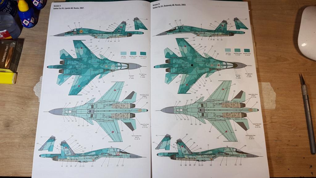 [Montage] Sukhoï Su-34 Fullback - 1/72 20191495