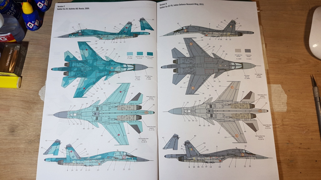 [Montage] Sukhoï Su-34 Fullback - 1/72 20191496