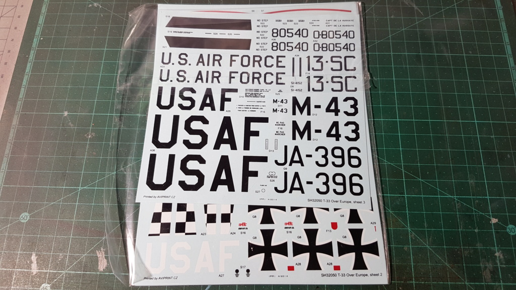[Unboxing] T-33A T-Bird - 1/32 20200443