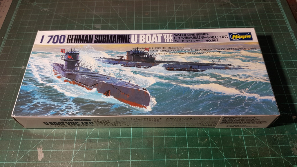 [Montage GB fini] DKM U-Boat Type IX-C - 1/700 20200552