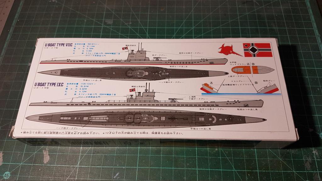 [Montage GB fini] DKM U-Boat Type IX-C - 1/700 20200553