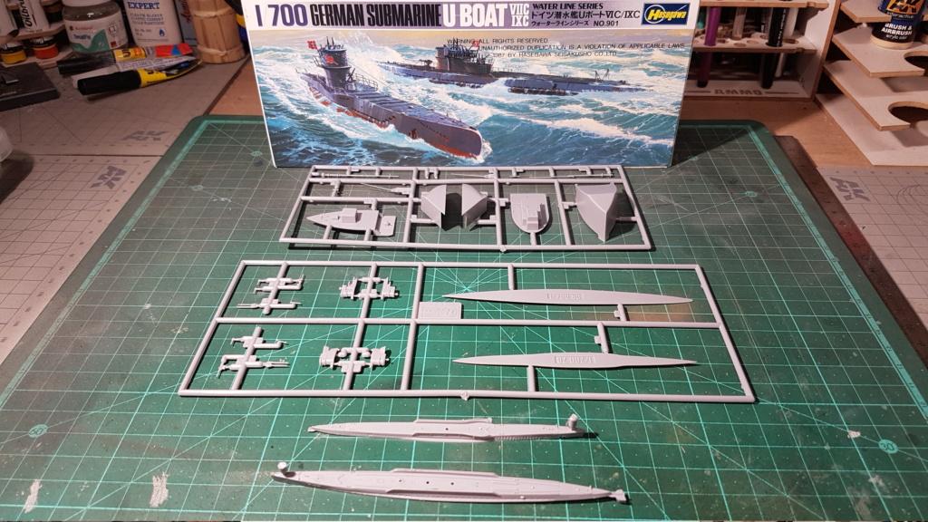 [Montage GB fini] DKM U-Boat Type IX-C - 1/700 20200554