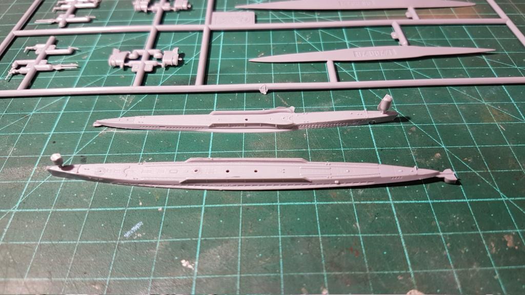 [Montage GB fini] DKM U-Boat Type IX-C - 1/700 20200555