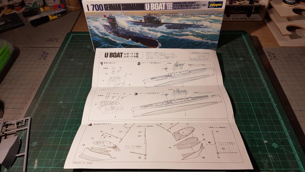 [Montage GB fini] DKM U-Boat Type IX-C - 1/700 20200557