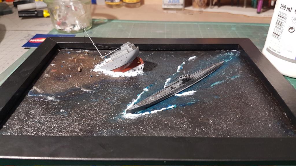 [Montage GB fini] DKM U-Boat Type IX-C - 1/700 20200572
