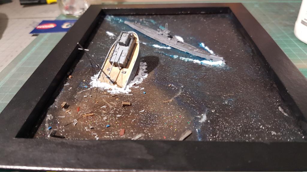[Montage GB fini] DKM U-Boat Type IX-C - 1/700 20200573