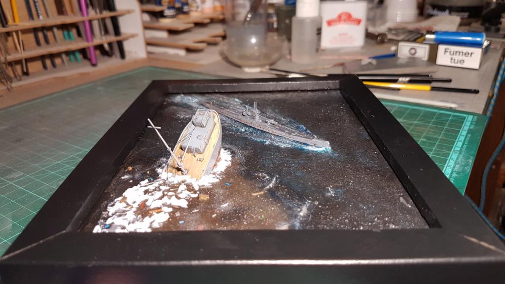 [Montage GB fini] DKM U-Boat Type IX-C - 1/700 20200575