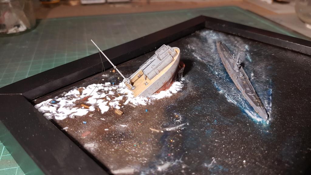 [Montage GB fini] DKM U-Boat Type IX-C - 1/700 20200576