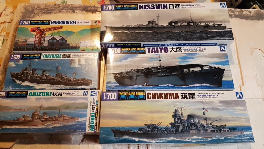 [Montage] Port/arsenal de Kure WWII - 1/700 20200611
