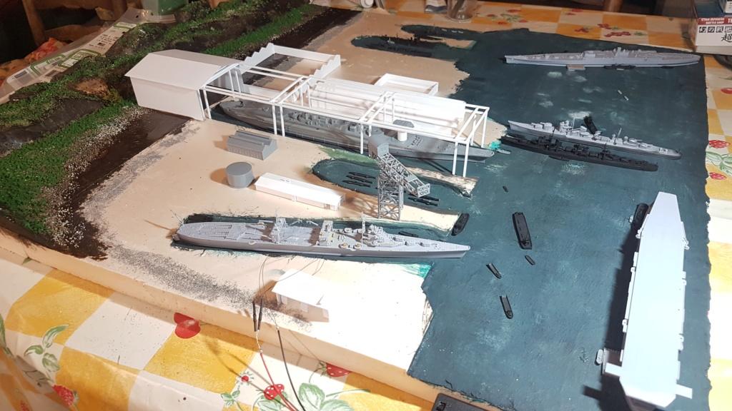 [Montage] Port/arsenal de Kure WWII - 1/700 - Page 4 20200667