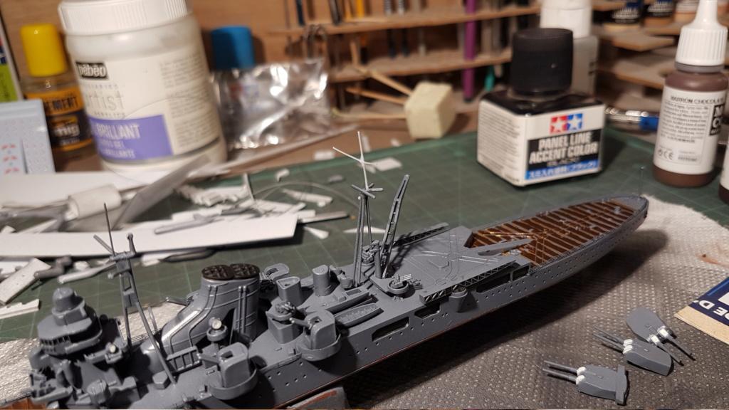 [Montage] Port/arsenal de Kure WWII - 1/700 - Page 5 20200736