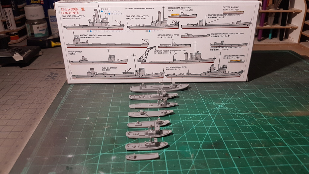 [Montage] Port/arsenal de Kure WWII - 1/700 - Page 6 20200745