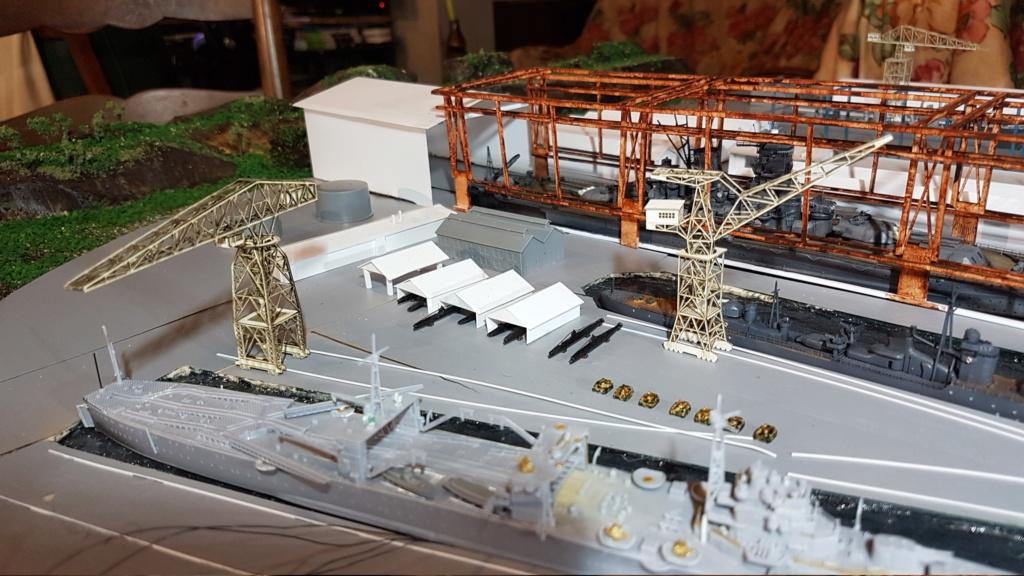 [Montage] Port/arsenal de Kure WWII - 1/700 - Page 10 20200869