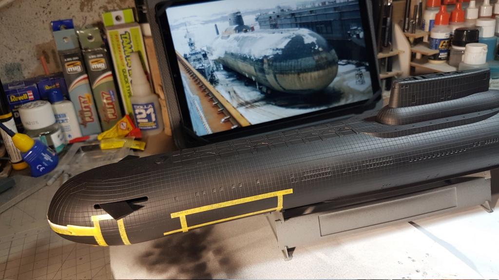 SSBN classe Typhoon (Hobby Boss 1/350°) 20210310