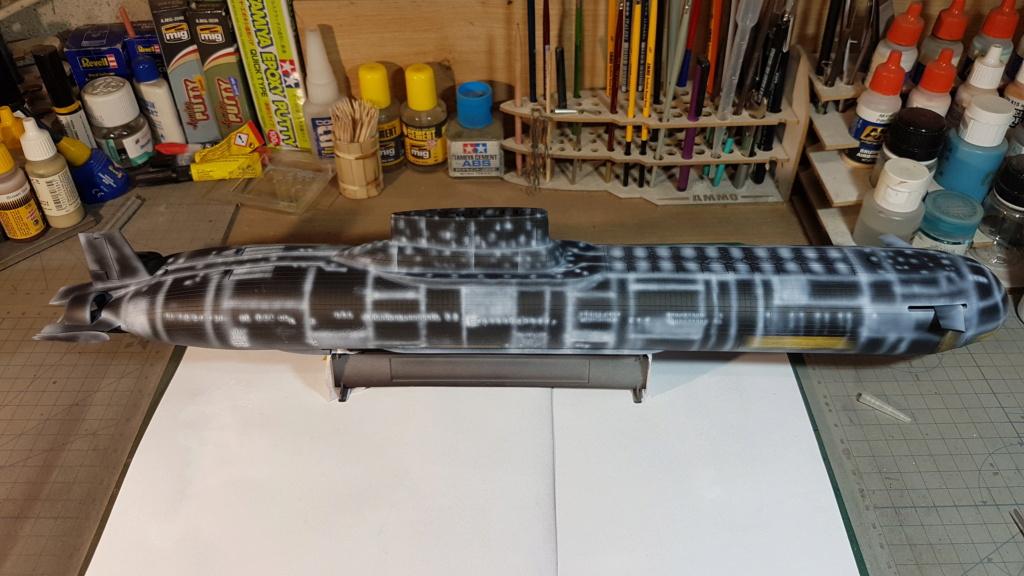 SSBN classe Typhoon (Hobby Boss 1/350°) 20210410