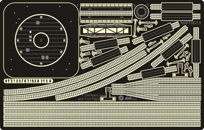 [Montage] Port/arsenal de Kure WWII - 1/700 - Page 10 Railsp10