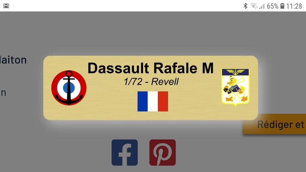 [Montage fini] Dassault Rafale M - 1/72 Screen10