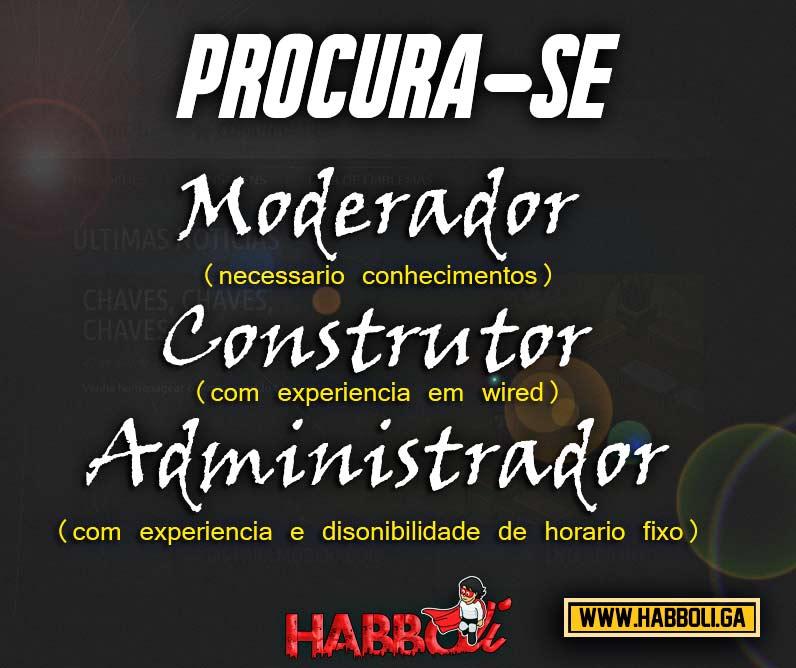 HABBOLI [SERVIDOR NOVO /VAGA NA EQUIPE , / 24 HRS ON / VÁRIOS MOBIS / EFEITOS / CATÁLOGO ATUALIZADO Procur10