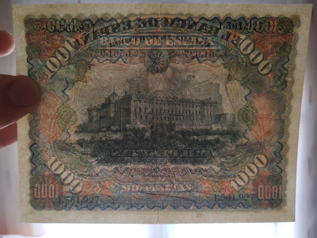 1000 pesetas julio 1907 20190910